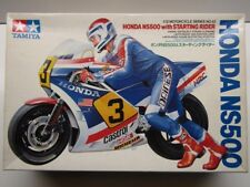 Tamiya Vintage 1:12 Scale Honda NS500 with Starting Rider Model Kit - New #1442