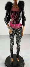 Barbie Doll Fashionistas Life in the Dream House Outfit Faux Leather Jacket