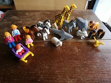 Playmobil Job Lot Of Animals And Figures