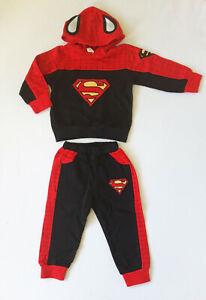 Jogginganzug Spiderman Superman schwarz-rot Gr.80