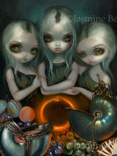 Jasmine Becket-Griffith art print nautilus fairy SIGNED Allegory of Infinity