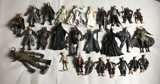 Lord Of The Rings Action Figure Lot W/27 Figures & Accessories Collectors Items