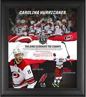 "Carolina Hurricanes Framed 15"" x 17"" 2019 Playoffs Series Win v Capitals Collage"