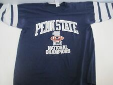 VTG Penn State National Champions 1986 T Shirt Jersey Tagged Logo 7 L