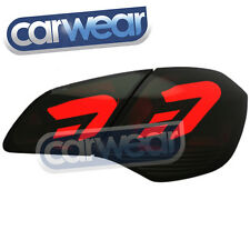 OPEL & HOLDEN ASTRA J 09- SMOKE RED LED LIGHT BAR STYLE TAIL LIGHTS