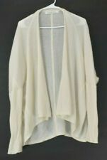 2828031124 Athleta Women s Small Solid Long Sleeve 100% Cashmere Open Front Cardigan