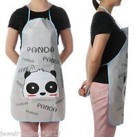 Panda Kochschürze Schürze Küchenschürze Latzschürze Grillschürze Trägerschürze