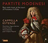 Cappella Estense - Partite Modenesi - Bass Violin Music at the Court [CD]