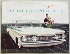 OLDSMOBILE CARS USA Car Sales Brochure 1959 NINETY EIGHT Super 88 DYNAMIC 88