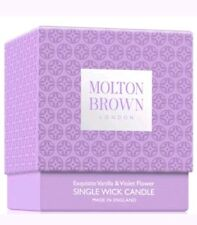 Molton Brown 180g Exquisite Vanilla & Violet Flower Single Wick Candle