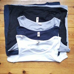 4 Medium M MENS Vest unisex BUNDLE pack Gym Wear plain job lot mixed A cheap