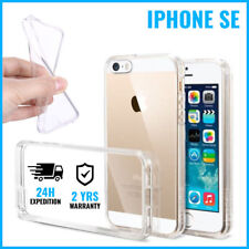 Transparent 0.3mm Cas Gel Clear Case Cover Etui Coque Silicone For iPhone SE
