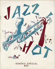 """""""JAZZ HOT NUMERO SPECIAL MEILLEURS VOEUX DECEMBRE 1947 (Couverture de PAGES)"""