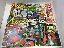 Action Comics 591 - 598 Superman Silver Banshee DC Comics Copper Age 8 Issue Lot