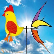 Brookite Chicken Wind Spinner Spinning Garden Wind Wheel Festival Decoration