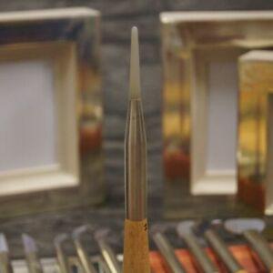 Achatpolierstein Größe 11 zum vergolden Blattgold Blattsilber Gold