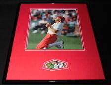 Payne Stewart Signed Framed 16x20 Photo Display PSA/DNA