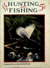 Vintage Hunting & Fishing Magazine July 1932 Great Cover Sporting Jem151