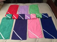 10 Microfiber Towels With Zipper Pouch Cell Phone Keys Id Gym Golf Home 8 Colors