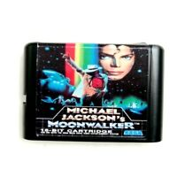 Michael Jackson's Moonwalker 16 Bit Game Card For Sega Genesis Mega Drive System