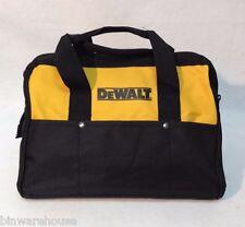 """New DeWalt 13"""" x 9"""" x 10"""" Contractors Tool Bag Heavy Duty Nylon"""