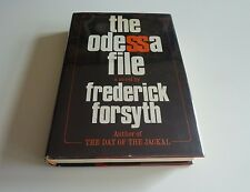 Frederick Forsyth-The Odessa File-1972 / 1st Edition / 1st Printing HC DJ