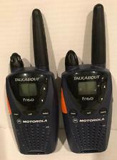 Set of 2 Motorola Talkabout fr60 2-Way Radio Walkie Talkies