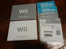 Nintendo Wii Console User Operations Manual Quick Start Guide OEM SHIPS FREE