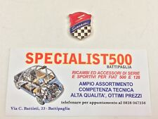 FIAT   500 -126  FREGIO SMALTATO  GIANNINI
