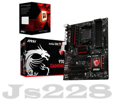 MSI 970 GAMING Motherboard  +AMD FX-8350 Eight-Core 4.0GHz CPU Combo set