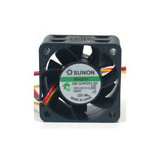 1Pcs for Sunon 40x40x28mm Gm1204Pqv1-8A Fan 3Pin Good condition Fu8