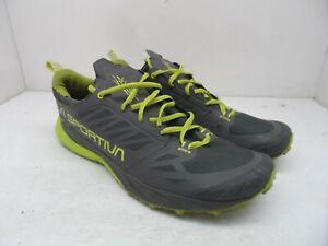 La Sportiva Men's KAPTIVA Athletic Running Sneakers Grey/Green Size 11.5M
