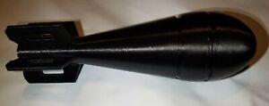 Replica Plastic 60MM M69 WW2 Mortar Reproduction Reenacting Cosplay Prop LARP