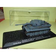 CHAR DE COMBAT N°01 Pz.Kpfw. VI Tiger Ausf. E ALLEMAGNE 1943 ALTAYA 1:72