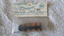 Vintage Helin's Swimmerspoon Fishing Lure Insert  - Size 275 - Color PS   (BA 1)