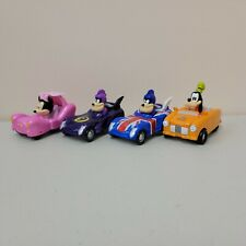 New listing Disney Jr Mickey Mouse and the Roadster Racers Diecast LOT of 4 Cars Pete Goofy