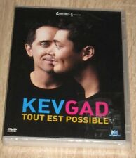 "New DVD Spectacle Humour ""KEV & GAD : TOUT EST POSSIBLE"" [NEUF SOUS CELLO!!]"
