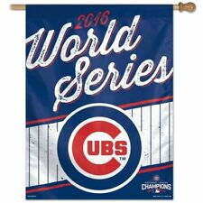 IGN Chicago Cubs Banner 27x37 Vertical 2016 World Series Champs Design Shi