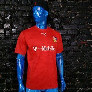 Czech Republic Team Jersey Home shirt 2006 - 2008 Red Puma Trikot Mens Size L