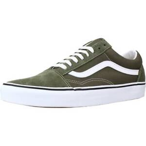 Sport / Zapatillas Hombre  VANS UA OLD SKOOL COLOR VERDE GRAPELEAF
