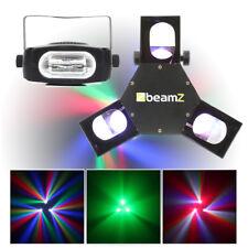 Beamz Triple Flex LED DMX Scanner Light Strobe Lighting Effects Disco Party DJ