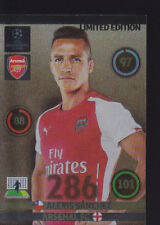 2014/15 Adrenalyn XL Champions League Alexis Sanchez Arsenal édition limitée