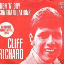 JUKEBOX SINGLE 45 CLIFF RICHARD CONGRATULATIONS  1968