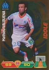 MATHIEU VALBUENA # IDOLE MARSEILLE OM TRADING CARDS ADRENALYN PANINI FOOT 2013