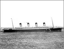 Poster Print: New View: RMS Olympic In NY On Maiden US Visit, June 11, 1911