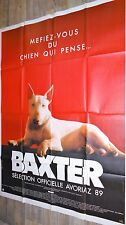 BAXTER !   affiche cinema chien bull terrier