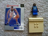 LEGO Basketball - Rare - NBA New York Knicks - Allan Houston #20 w/ Card & Stand