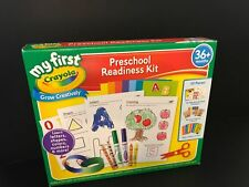 Crayola Preschool Readiness Kit - Letters, Shapes, Colors, Numbers, MORE - NEW