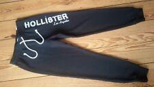 xkx   Damen Hollister cuffed jogger Hose Jogginghose schwarz Gr. XS Glitzer, NEU