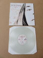 SUN DIAL Reflecter UFO LP RARE ORIGINAL 1992 UK CLEAR VINYL 1ST PRESSING UFO8LP